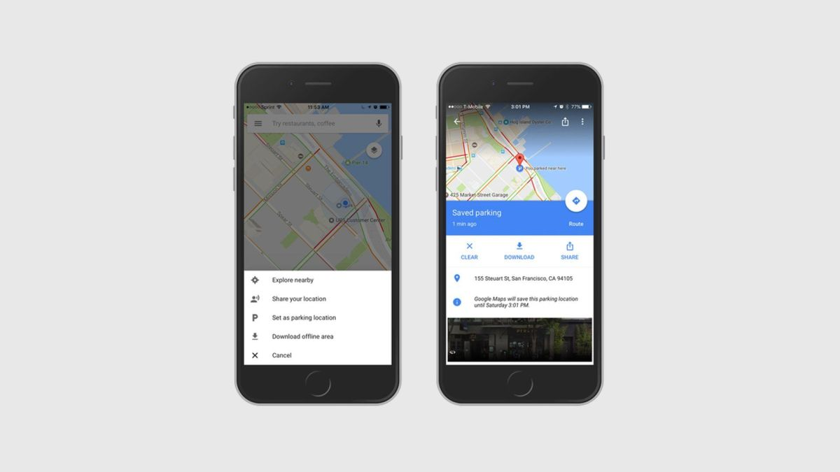 Google Maps Parking Reminder Comes To iOS